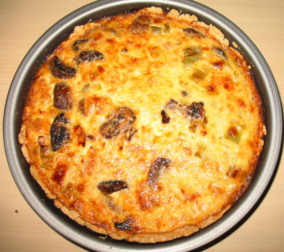 Mushroom Quiche Recipes — Dishmaps
