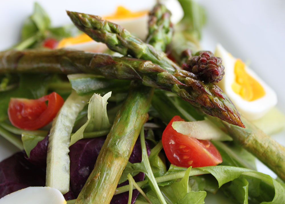 salad 2 or 4 starter salads this asparagus dish but asparagus salad ...