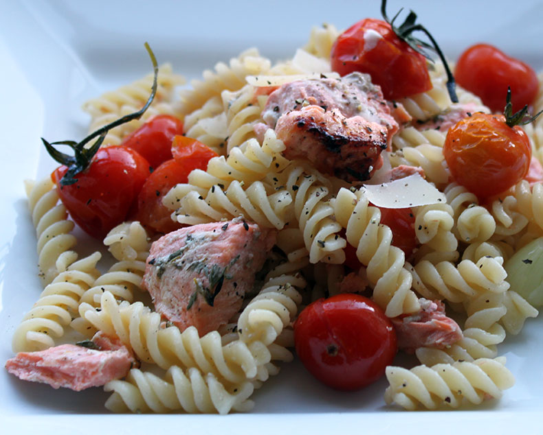 tomato pasta with parm parsley garlic grilled tomato linguine recipes ...