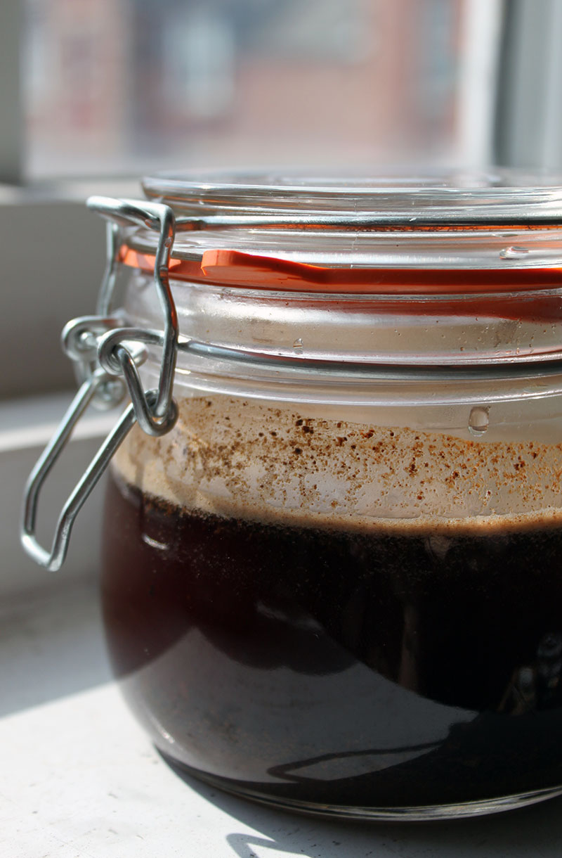 Coffee Concentrate Cold Brewed
