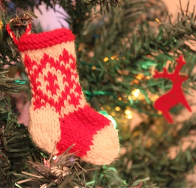 Mini Christmas Stocking Knitting Pattern Free Free Christmas Knitting